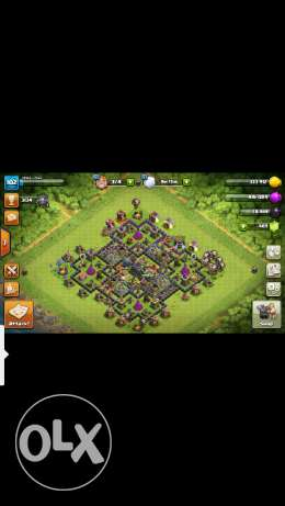 Clash of clan th9 for sale or exchange