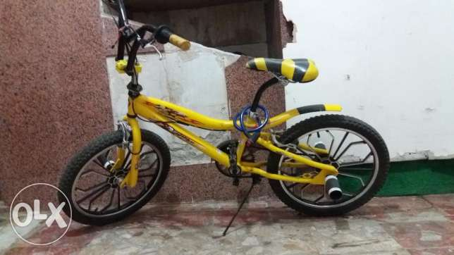 Yellow Cobra Cycle