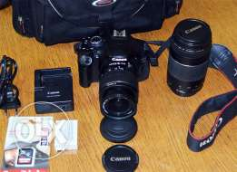 Camera canon 600d 75-300mm prof. for sale
