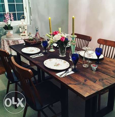 dining table and rug جدة -  2