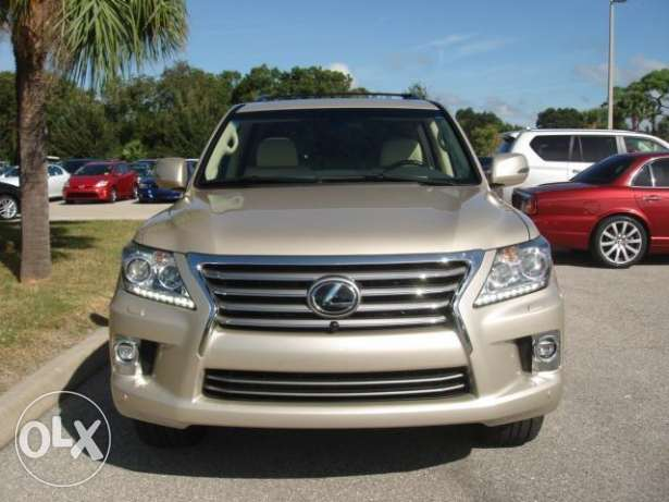 Lexus lx570 is available