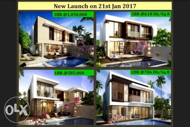 hot deal own your home with easy payment plan 1, 3 bedroom villas