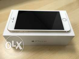 IPhone 6 Plus + with FaceTime GOLD, BRAND NEW Condition, AXIOM Warrant