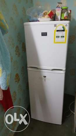 refrigerator TIT just like new neat and clean not used much