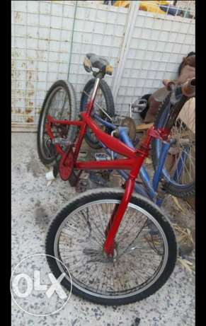 Fire wheels bicycle