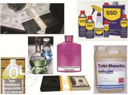 SSD Chemical Solution For Cleaning Black Money And Activating Machines