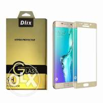 S7 Edge Tempered Glass Screen Protector 3D 360° Full Cover for Samsung