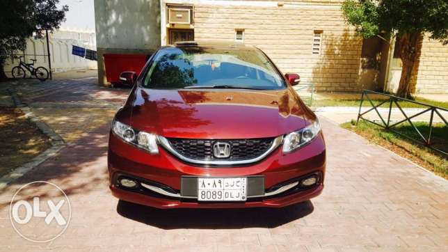 Honda civic 2015 low km.