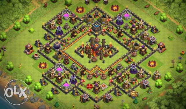 clash of clans 10 max