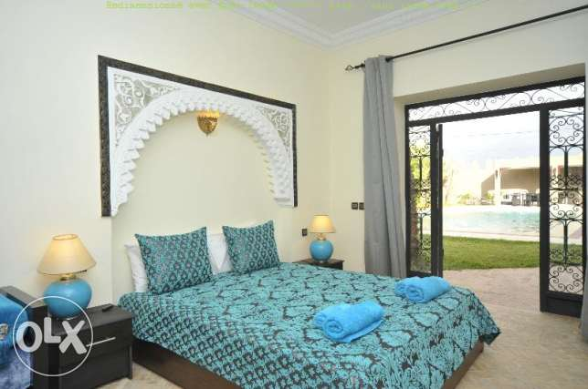 Villa and apartments at Marrakech for holiday