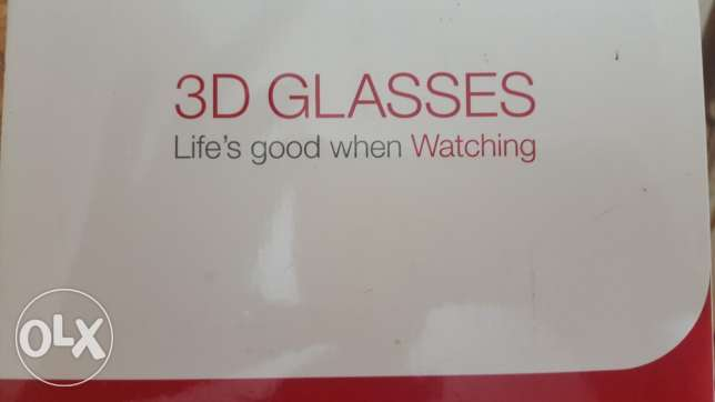 LG 3d glassess and remote control