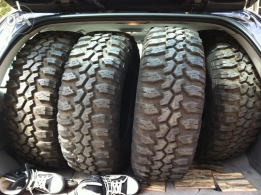 off road tires in very good condition for sale