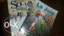 Social Studies and French book grade 2