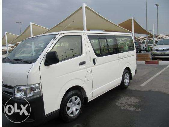 Toyota Hiace Is Available With Driver For Your duty Now