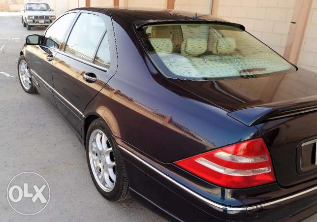 Low mileage Mercedes S-500 for sale الرياض -  2