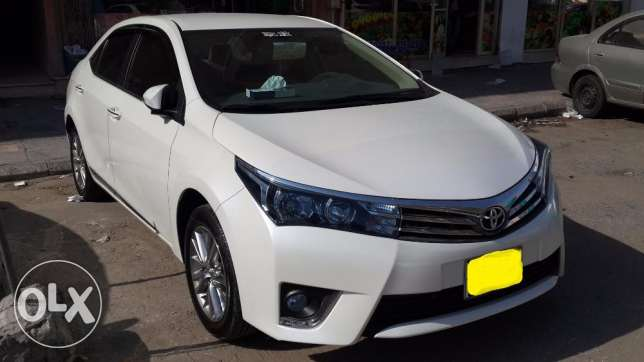 Toyota Corolla Gli-1.6 2016 Available