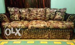 Sofa set for 8 person in a very amazing condition