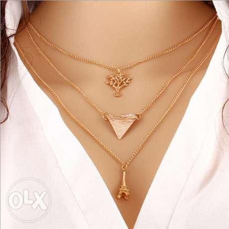 New Women Accessories Sweater Chain