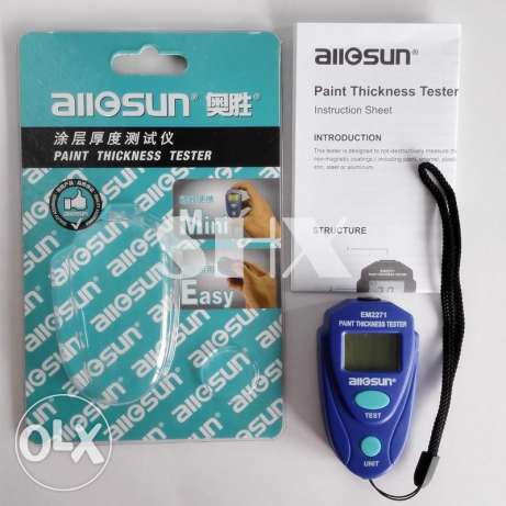 All Sun car Paint thickness tester
