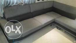 L shape sofa bought from Home Plaza
