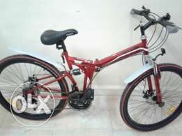 Sport,folding bike nearly new(price negotiable)