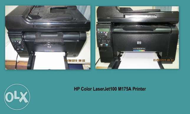 HP Color LaserJet100 M175A Printer