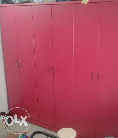 Pink colour furniture New furniture only 3 month use