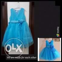 Girls dress for 4-5 years