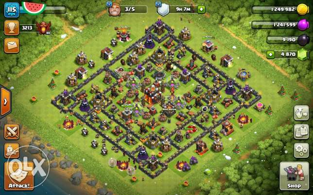 Clash of clans TH10 الرياض -  1