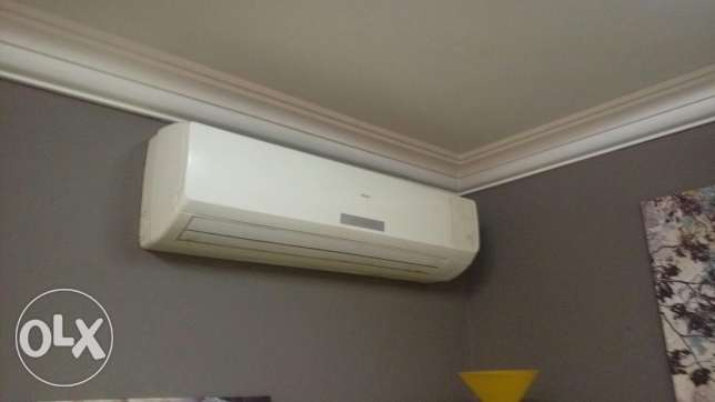 3 AC ( 1 haier and 2 electrolux )