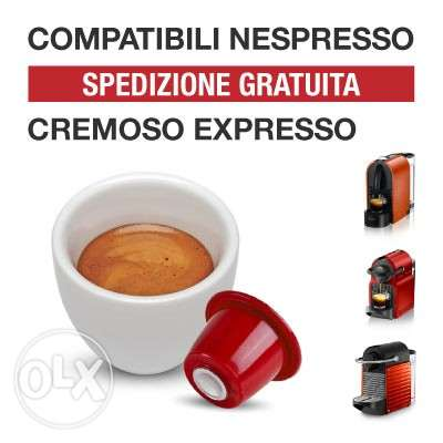 Nespresso compatible Italian Coffee Capsules at a great price