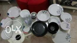 Cooking and dinner sets over 150 items