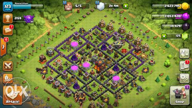 Clash of Clans id for sale