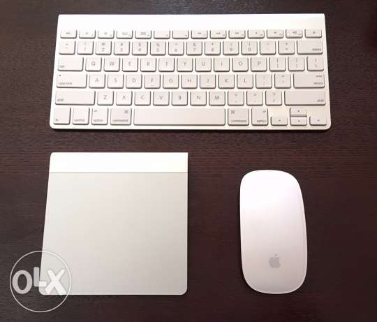 Apple Keyboard, Mouse and Trackpad