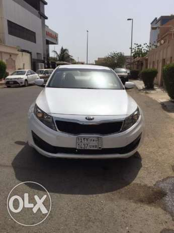 Kia Optima - 2013 Model Pearl White - Check contact details in Descrip