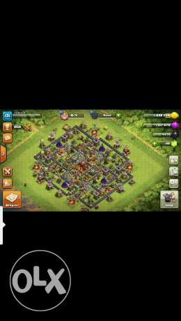 Clash of clan th10 for sale