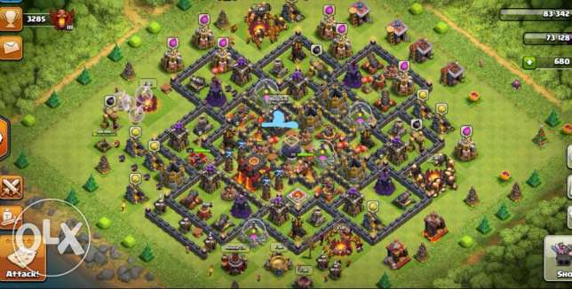 clash of clans (كلاش او كلانس ) Account