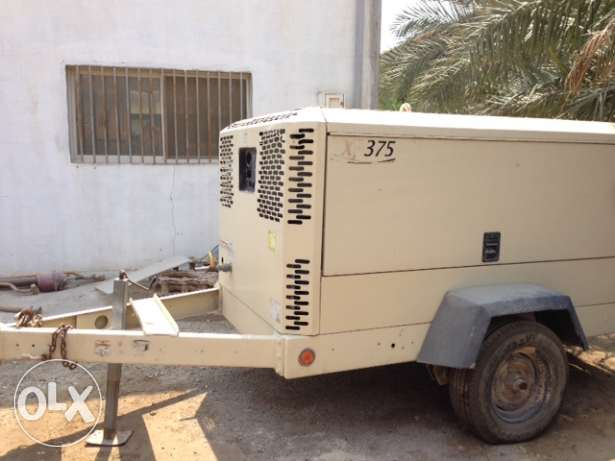 Air Compressor 375cfm