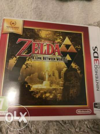 Nintendo 3ds legend of Zelda a link to the past RPG game (EUR)