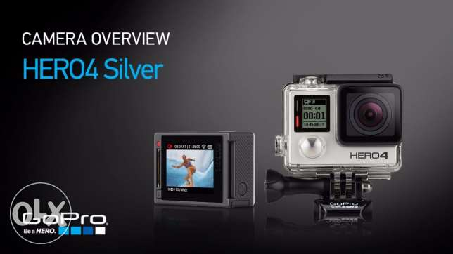 gopro hero 4 silver edition for 850 SAR جدة -  2