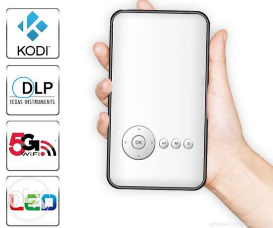 Mobile Smart Projector 1080p Ultra HD