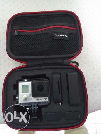 Gopro hero 3+ black with all accessories