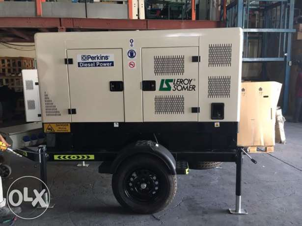 Diesel Generators with Intl Warranty + LSA Alternators
