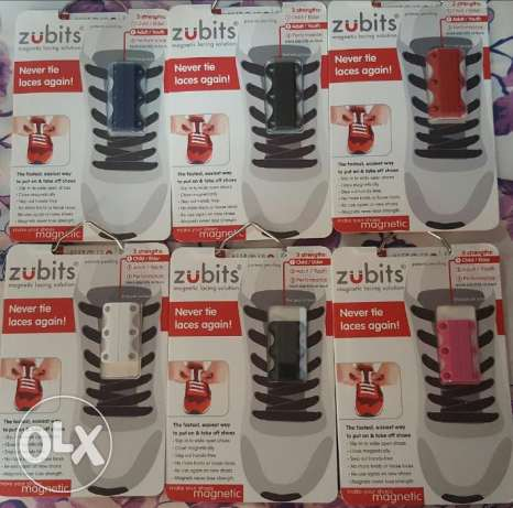 Zubits - No more tying shoes knots