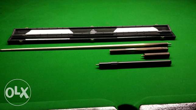 """CUESOUL 57"""" Handcraft 3/4 Jointed Snooker Cue Set -Rosewood Butt الرياض -  3"""