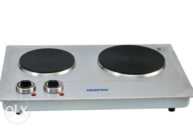 New Geepas hot plate with warranty