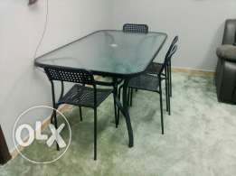 Sofa, Bed, Dining Table