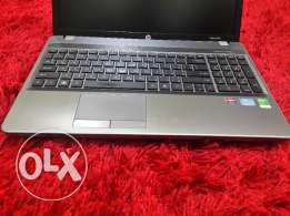 laptop HP probook core i5 hard 640gb ram 4gb metal full keyboard