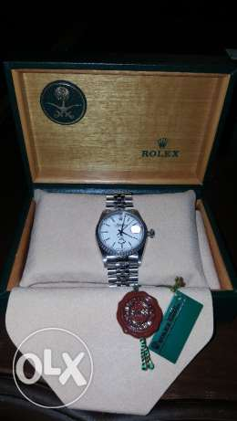 Rolex Oyster - With Malek Fahd Name & Saudi Flag - Rare Watch