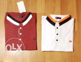 Office/School Polo shirts with logo embroidery